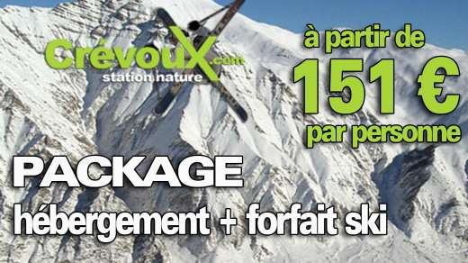 crevoux r servation location vacances ski cr voux. Black Bedroom Furniture Sets. Home Design Ideas